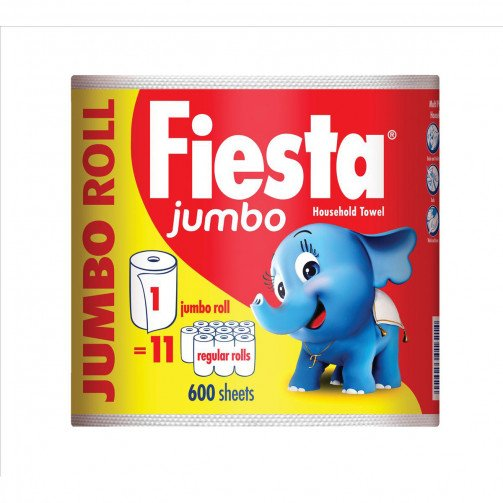 Fiesta Jumbo 1 Roll 600sheets