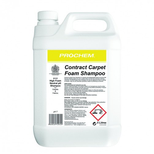 Contract Carpet Foam Shampoo 5 litres