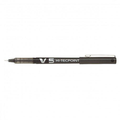 Pilot V5 Hi-Tecpoint Black BXV501