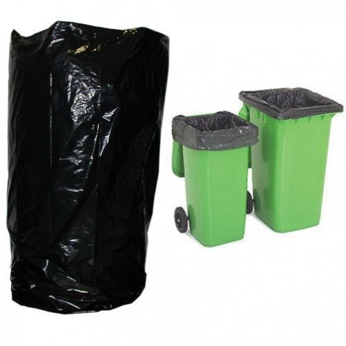 Wheelie Bin Bags Medium Duty 140g x 100