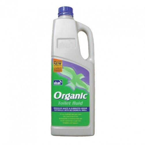 Elsan Organic Toilet Fluid 2 Litre x 8