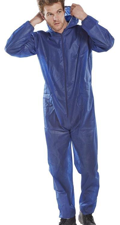 Disposable Boilersuit Single Janitorial Direct Ltd