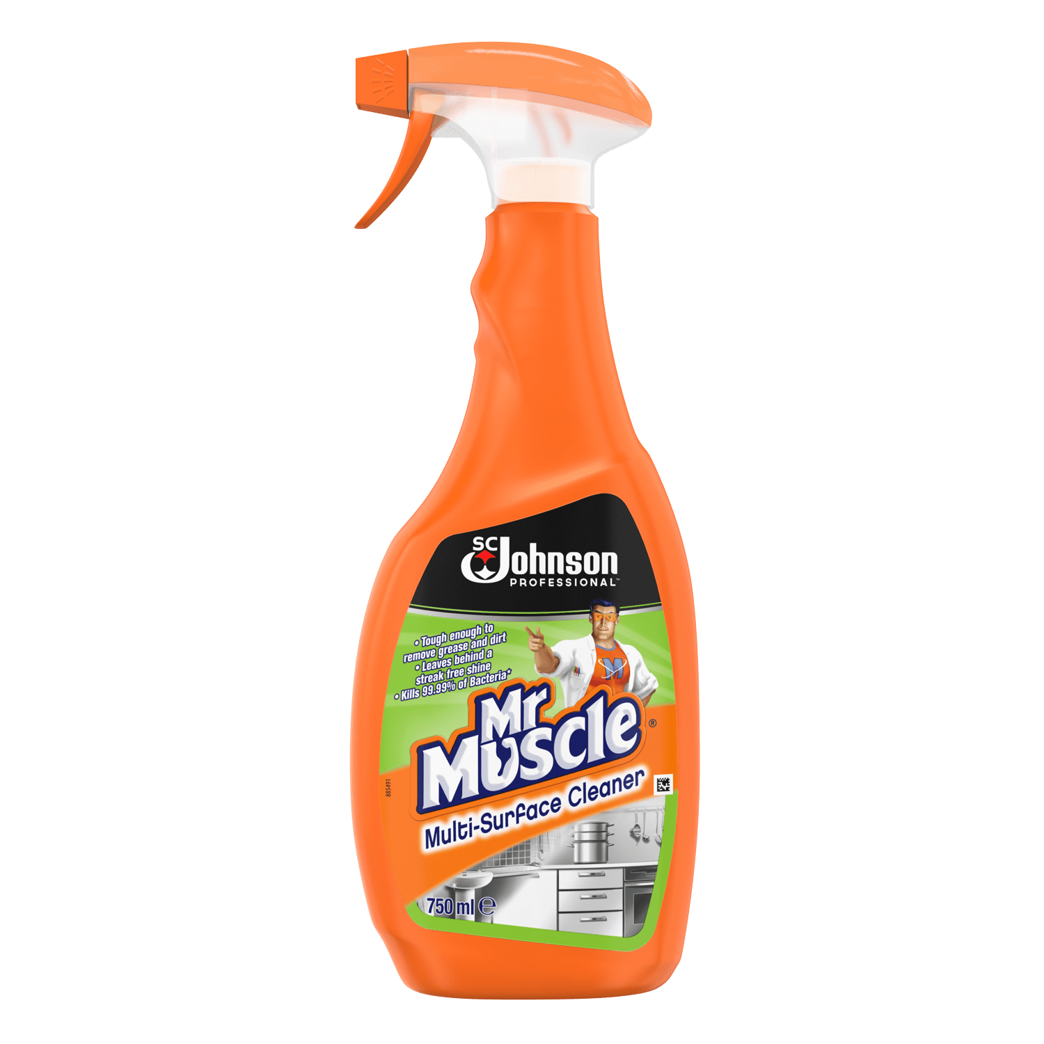 Mr Muscle Multi Surface Cleaner 750ml Janitorial Direct Ltd