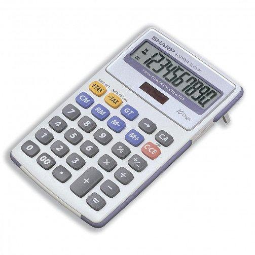 Sharp Calc Desk Top EL334FB
