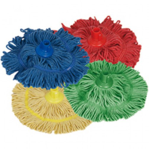 Biofresh Colour Coded Socket Mop Head 250g