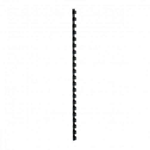 5 Star Plastic Combs  A4 6mm Black Pk100