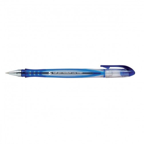 5 Star Premier Medium Ball Pen Blue
