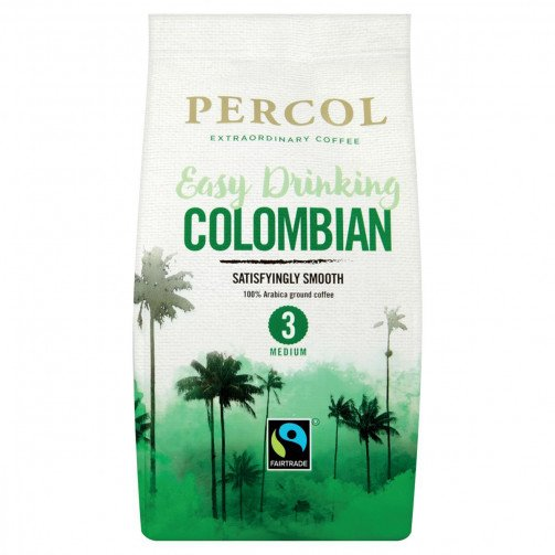 Percol Fairtrade Colom Fltr Coffee 200g