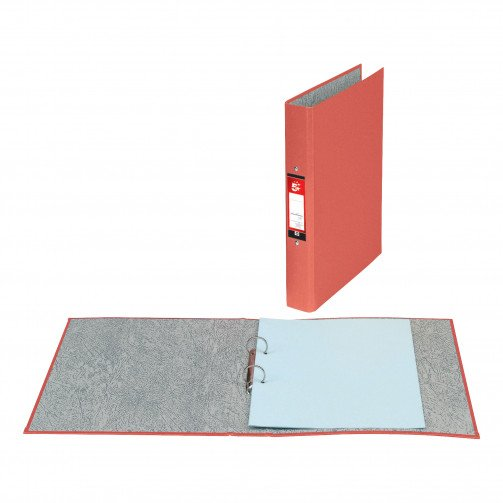 5 Star 2R/Binder A4 Board Red