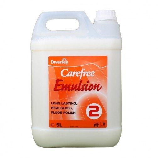 Carefree Emulsion Floor Polish 5 Litres