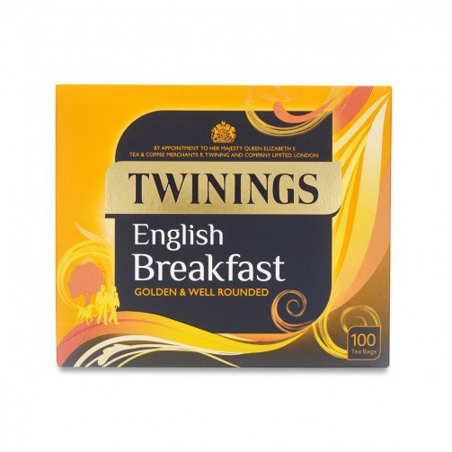 Twinings Breakfast TeaBags Qty100