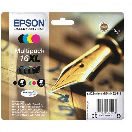 Epson 16XLIJCartHY B/C/M/Y PK4 T16364012