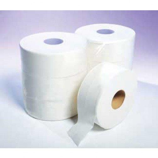 """Maxi Jumbo Toilet Rolls Economy, 3.15"""" Core 300m x 90mm x 6 - ECON20"""