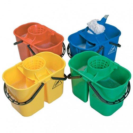 Duo Mop Bucket 15 Litre x 10