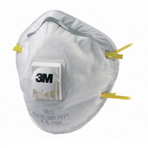 3M Dust Respirators pack of 10