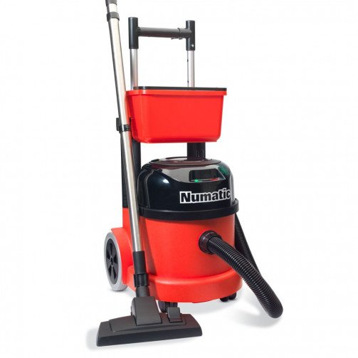 Numatic Battery Powered Vacuum With Storage Caddy