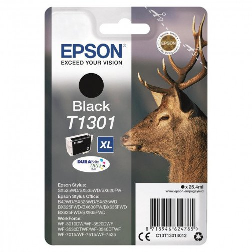 Epson T1301 InkCartBlk XL C13T13014012