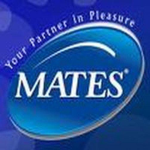 Mates Condoms Natural 2 Per Pack  x 48 Per Case SP