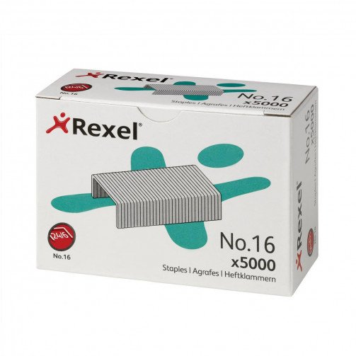 Rexel 16 Staples 6mm 06010 Bxd 5000