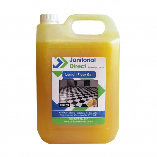 Lemon Floor Gel 5 litres