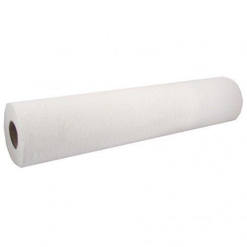 Couch Rolls White, 20inch x 40M - 9 rolls per case