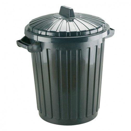 Giant Waste Bin 80 Litre Black