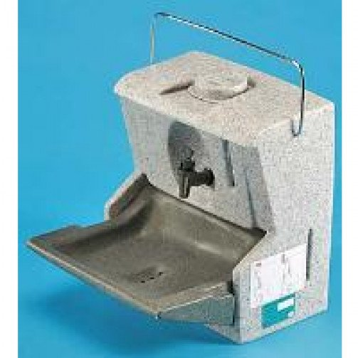 Teal Handeman Insulated Hand Washing Station