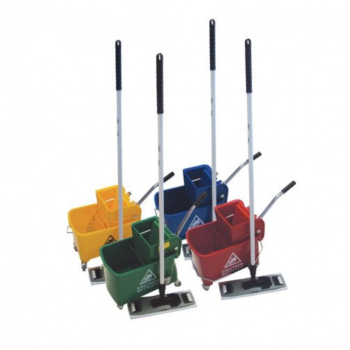Microspeedy Professional Cleaning Kit - Complete With Bucket, Frame, Handle, Holder & Head
