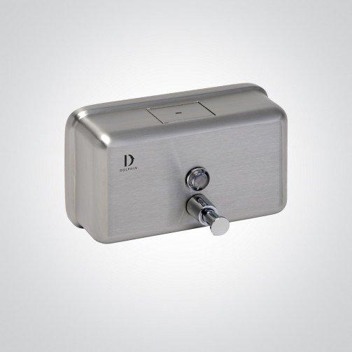 S/Steel Horizontal Soap Dispenser 1200ml Bulk Fill