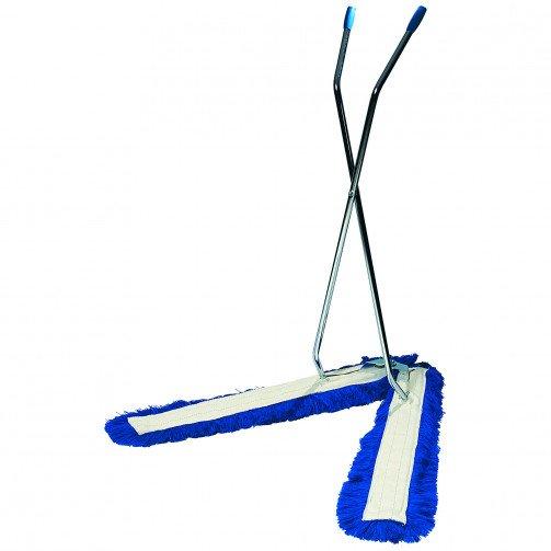 Dust Beater  ' V '  Sweeper Blue
