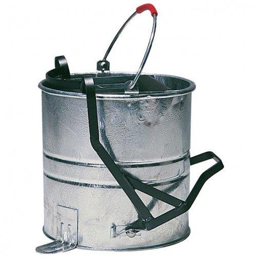 10 Litre Galvanised Steel Bucket Roller Operated