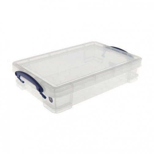 Really Useful Products 4L Box Clear
