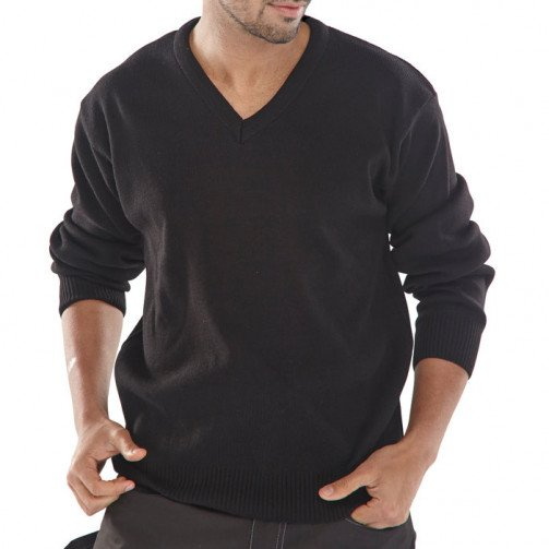 Acrylic V-Neck Sweater