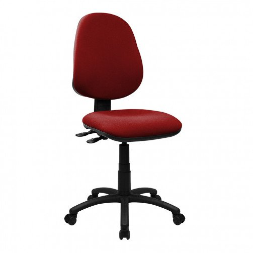 Nile 300 Red - High Back Synchronised Operator Chair  Red