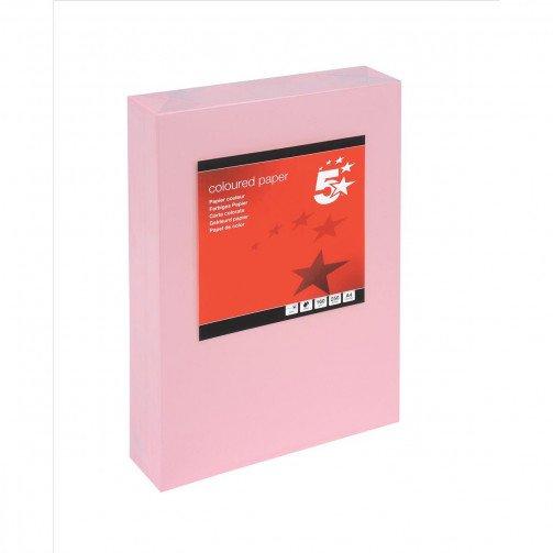 5 Star Tint Cd A4 160g L/Pink Pk250
