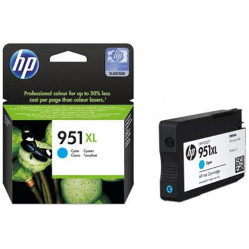 HP 951XL Ink Cartridge HY Cyan CN046AE