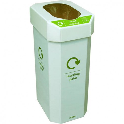 Combin 60 Litre Recycling Bins Pack of Five