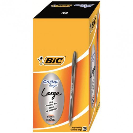 Bic Cristal Large Blk 880648