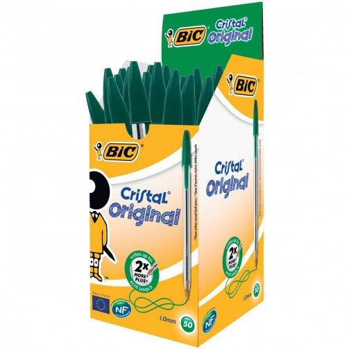 Bic Cristal Ballpen Green 8373629