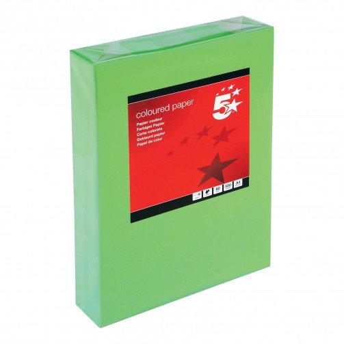 5 Star Tint A4 80gsm Deep Green Pk500