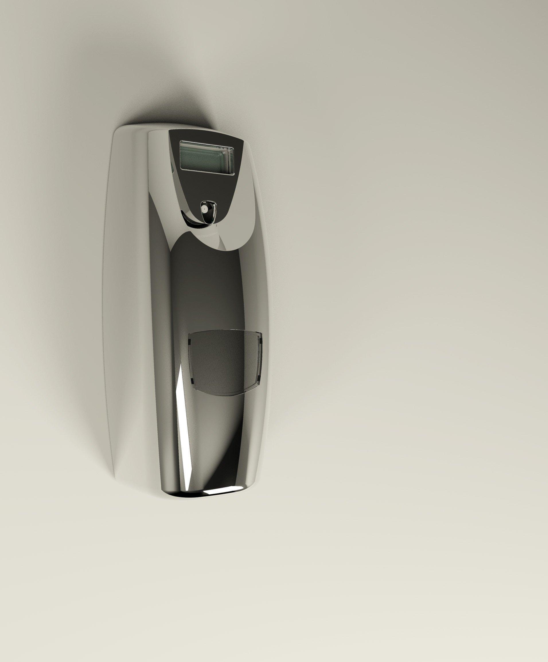 Vectair Micro Airoma Aerosol Dispenser Chrome Janitorial