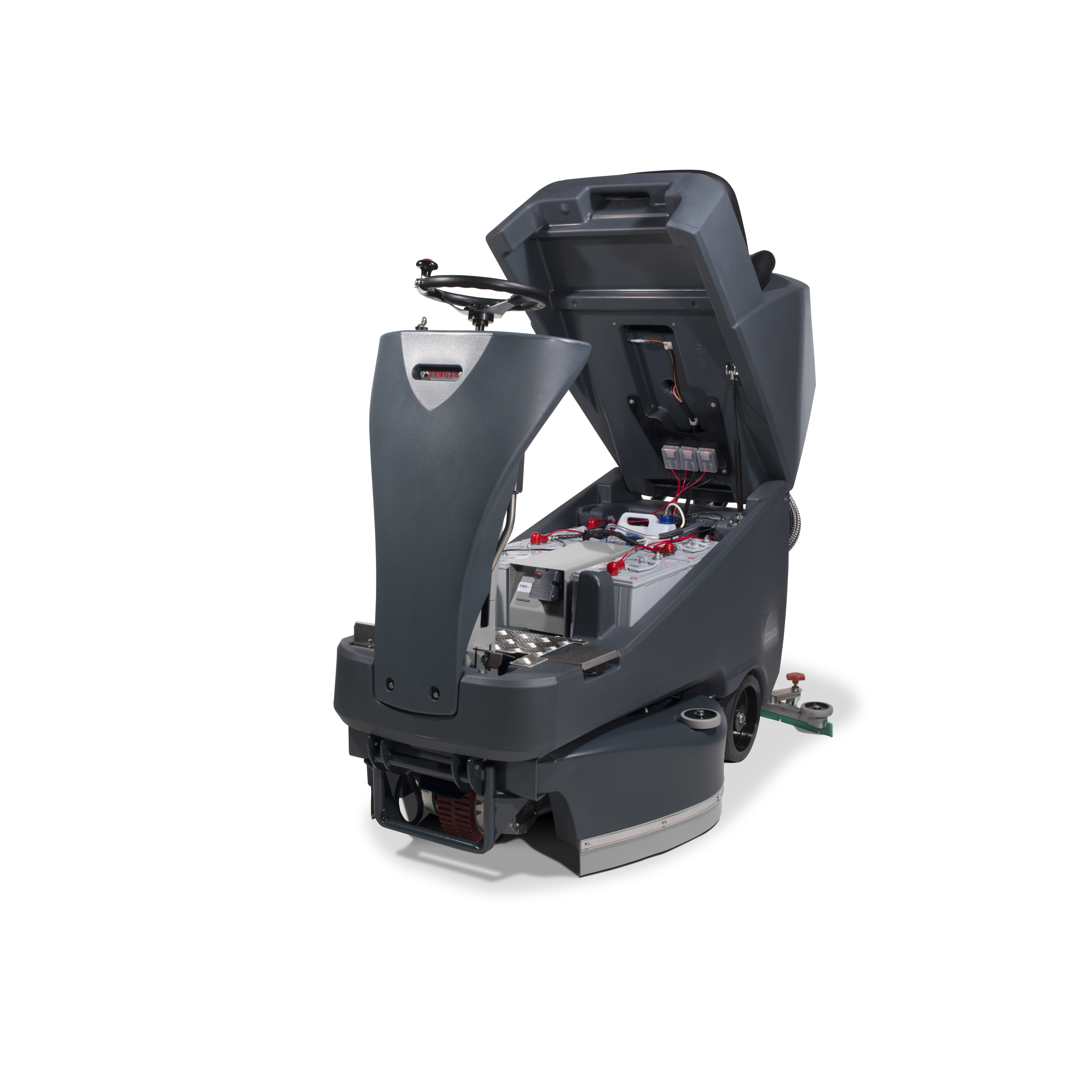 Numatic Ride On Scrubber Dryer Ttv678g Janitorial Direct Ltd