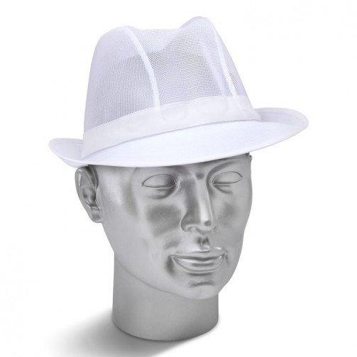 White Trilby hat TW