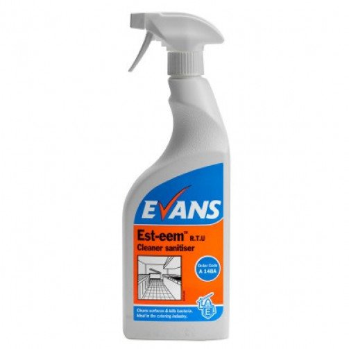 Est-Eem Sanitiser Trigger Bottle 750ml