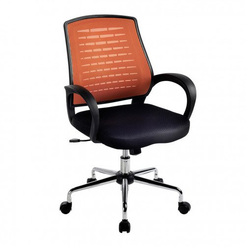 Volga Orange - Mesh Back Operator'S Chair  Orange