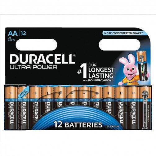 Duracell UltrPwr MX1500 AA Pk12 81235502