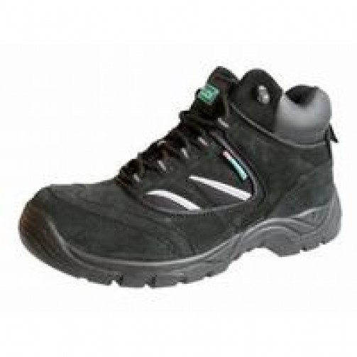Black Safety Trainer Boot