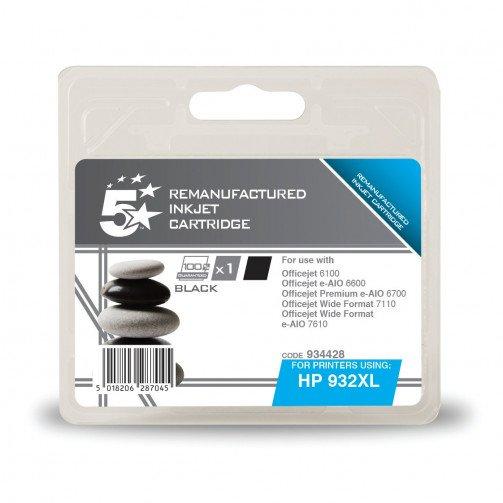 5 StarOffice HP932XL HY IJCartBlkCN053AE