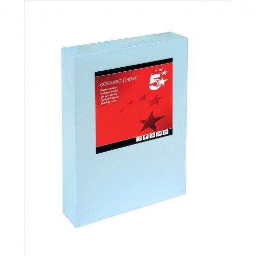 5 Star Tint Cd A4 160g L/Blue Pk250