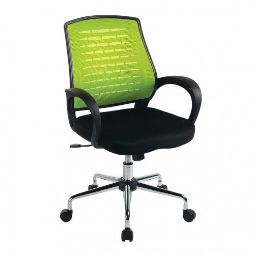 Volga Green - Mesh Back Operator'S Chair  Green